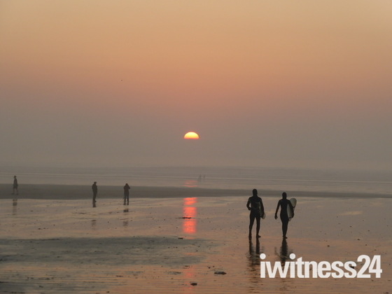 Saunton Sands Beach Sunset