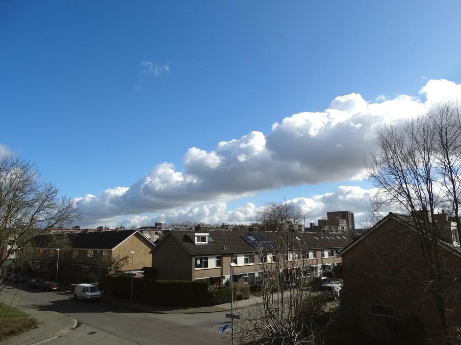 Prachtige Wolkenformatie