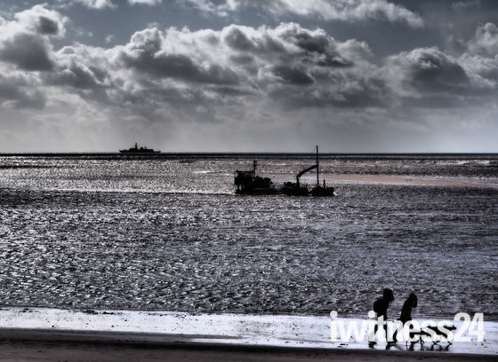 Boats off Exmouth