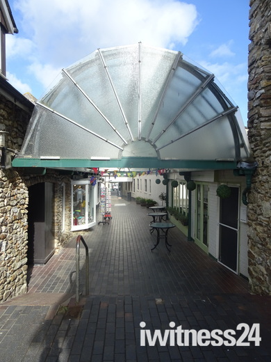 Honiton Arcade Shopping Centre.