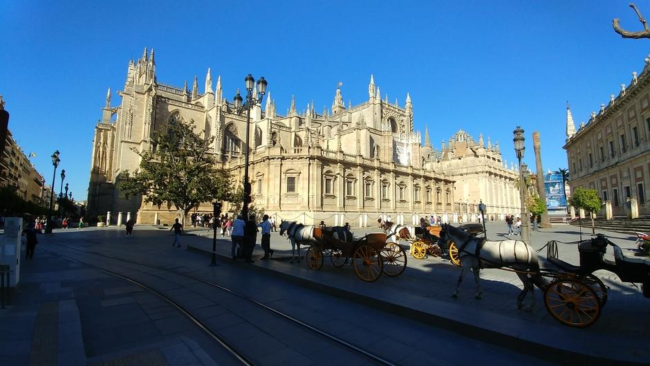 Zomerse temperaturen in Sevilla