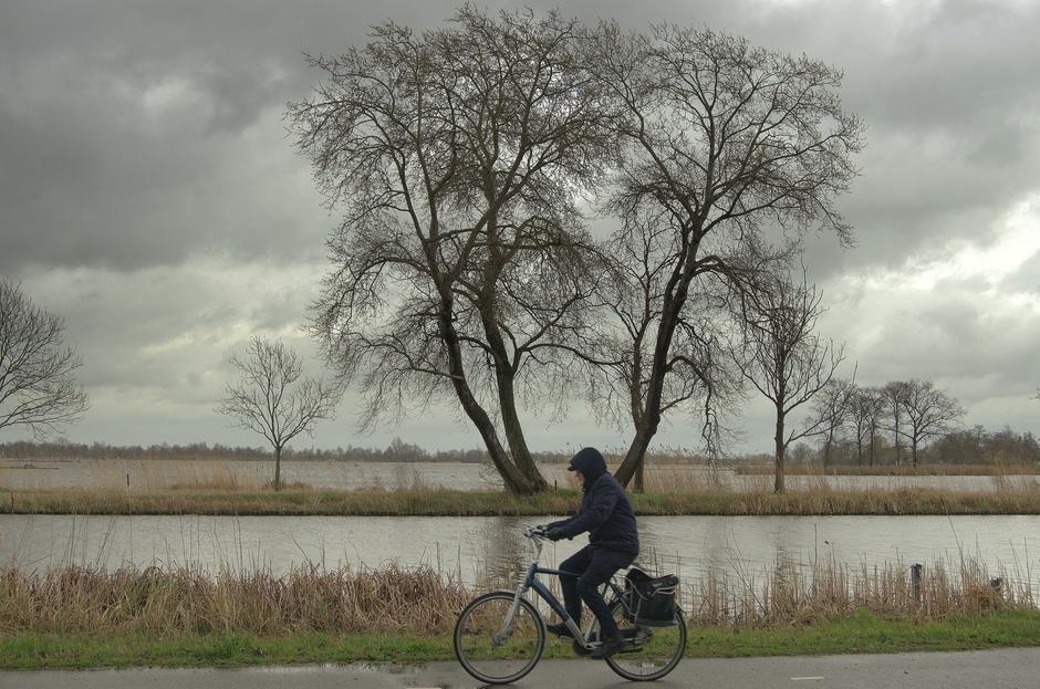 Op Donderdag 14 Maart veel regen en harde wind!