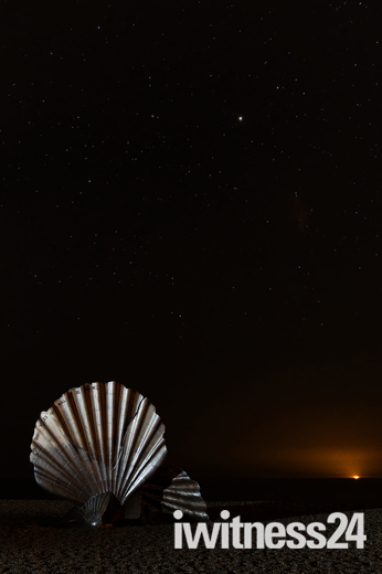 Aldeburgh at night
