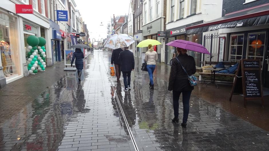 Paraplu weer