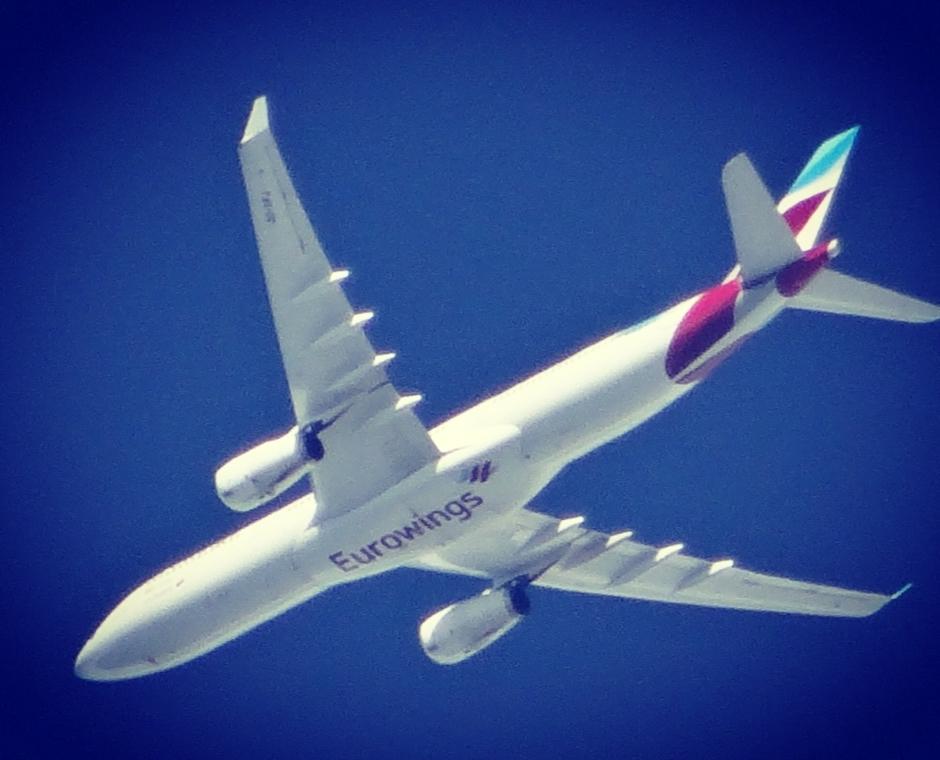Heldere lucht voor heldere vliegtuigfotos