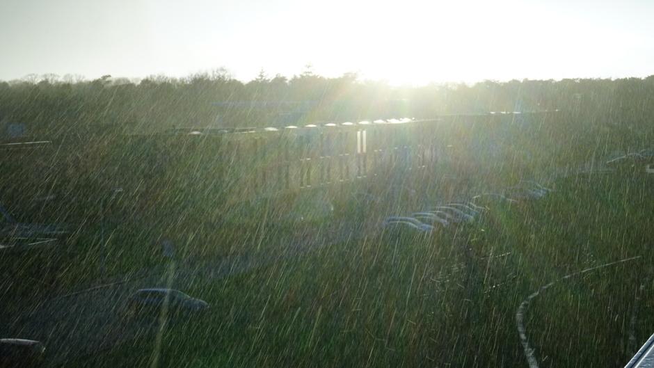 Regen en natte sneeuw