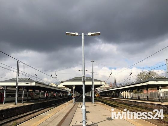 Norwich Railway platform
