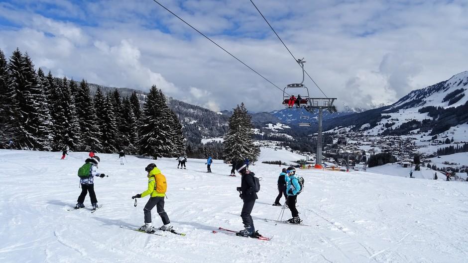 Alpen: prima wintersportdag