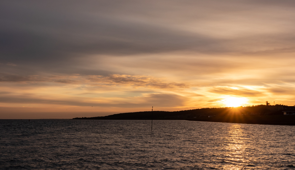 Zonsondergang Vlieland
