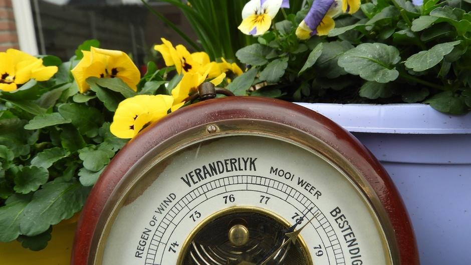 Hoge barometerstand