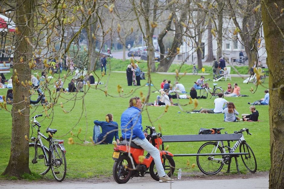 Zonnige dag Utrecht