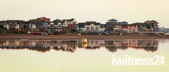 Estuary reflections at dusk