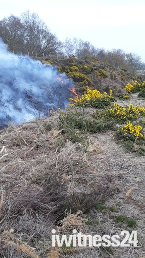 Fire on North Norfolk Railway.