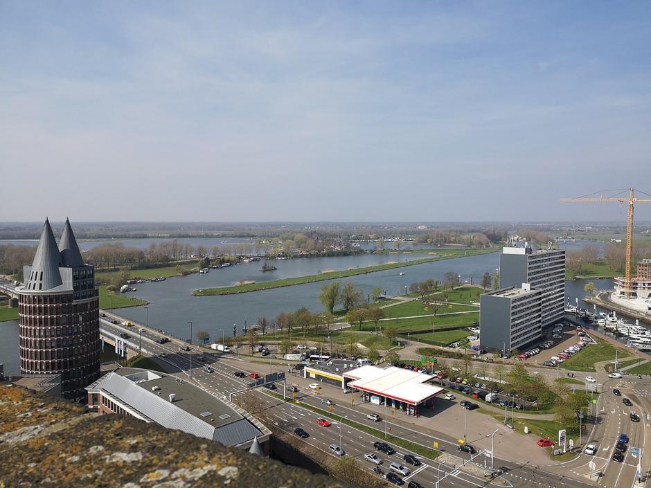 Uitzicht over de Maas bij Roermond