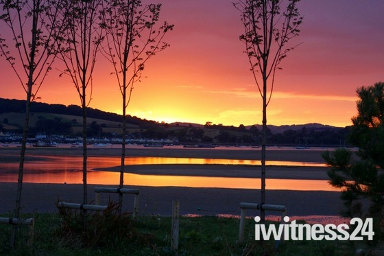 Exmouth sunset