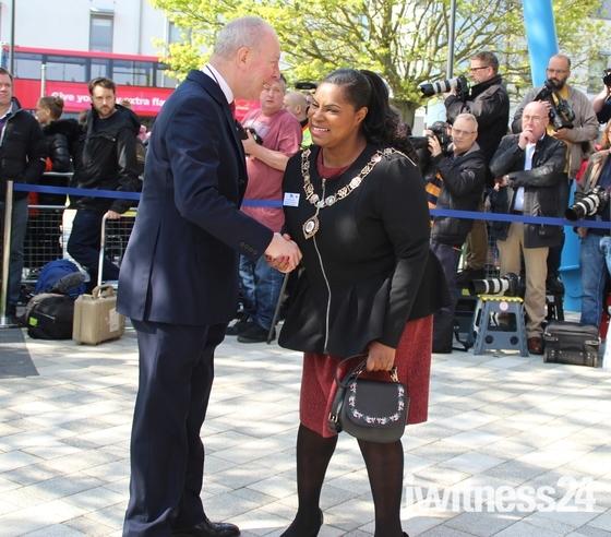 Prince Harry comes to Dagenham