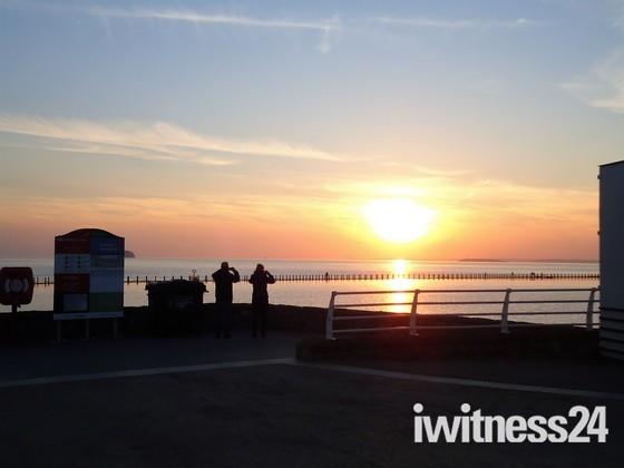 Marine Lake Sunset