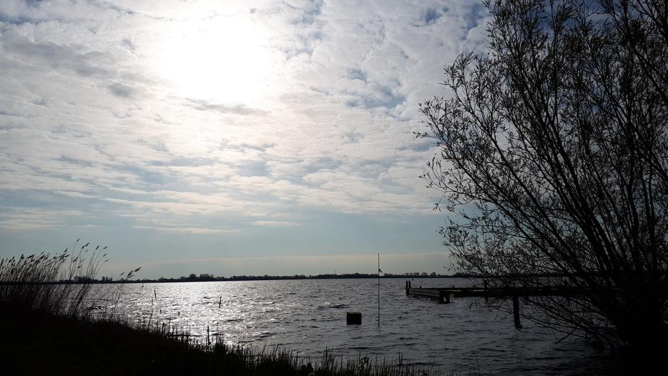Wolken boven Braassemmermeer Zonsopkomst