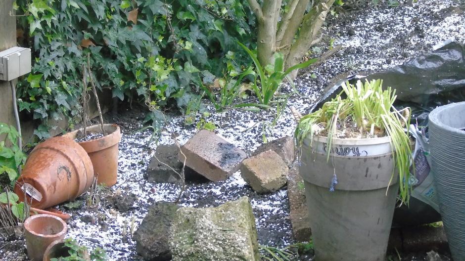 Winterse neerslag.