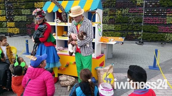 Dr Doo-Lot's Pop Up Pet Shop at Gallions Reach