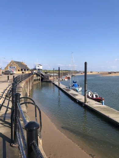 Wells Next sea Harbour