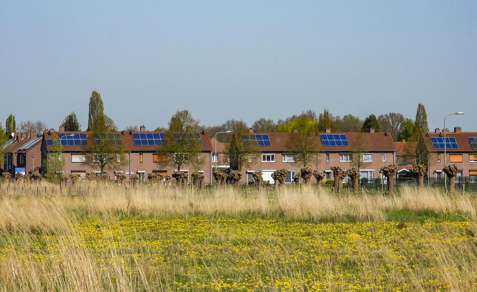zonnepanelen krijgen het druk