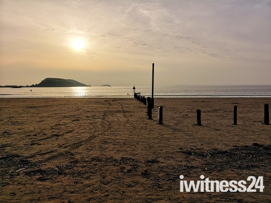 Good Friday stroll from Weston to Brean and back