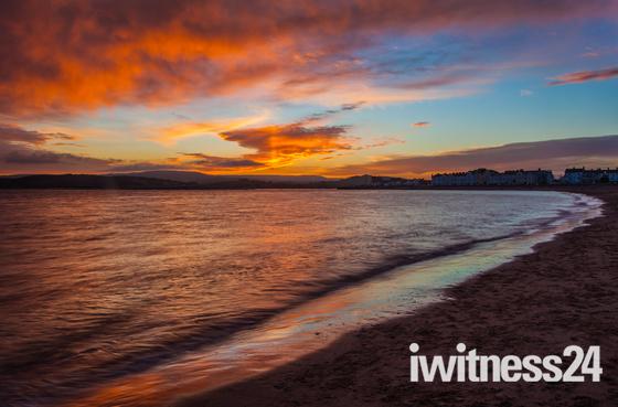 Evening sunsets