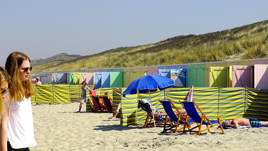 zon strandweer en windschermen