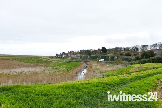 CLEY, VIEWED FROM THE MILL