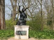 Sappho statue,