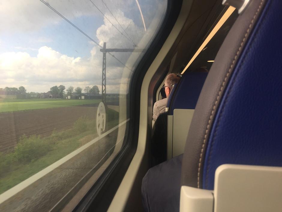 Hoogeveen had aan het einde van de dag een zonnetje met flink wat wolken