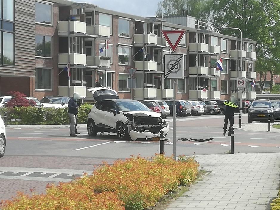 Aanrijding in Oldenzaal.