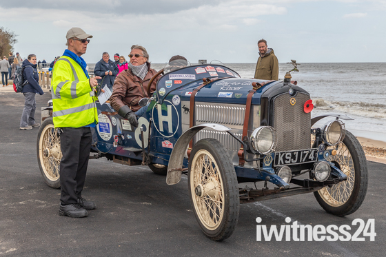 Classic Vehicle Rally from Ipswich to Felixstowe