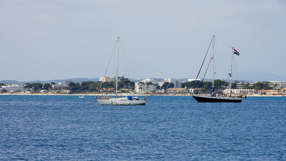 Nog geen blauwe luchten in Mallorca