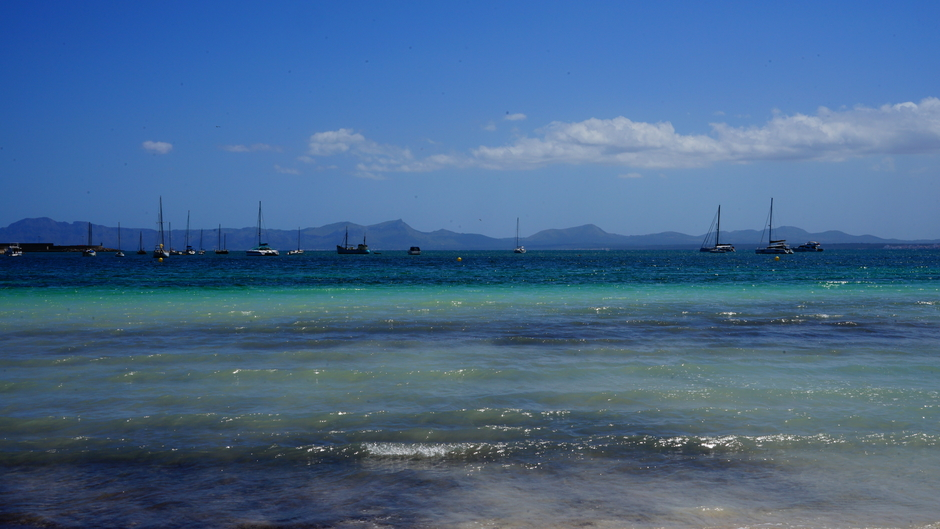 Blauw, maar fris Mallorca