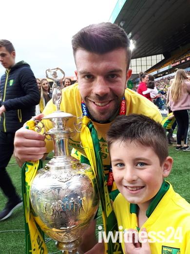 Norwich footballer