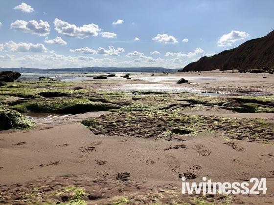 Beach walk Exmouth