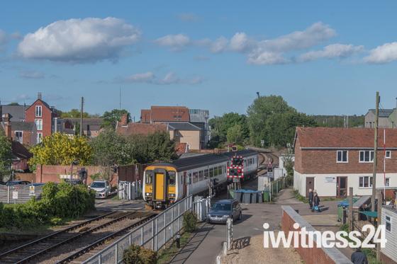 Woodbridge in the sunshine