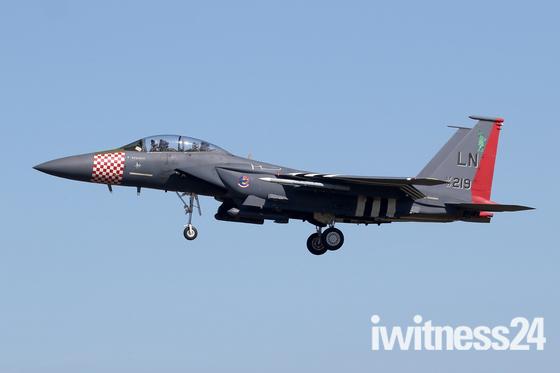 75th anniversary of D-Day F-15E at RAF Lakenheath.