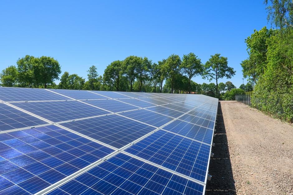 Uitstekend weer voor het opwekken van zonne-energie