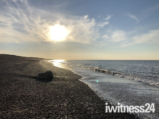Weybourne beach walk