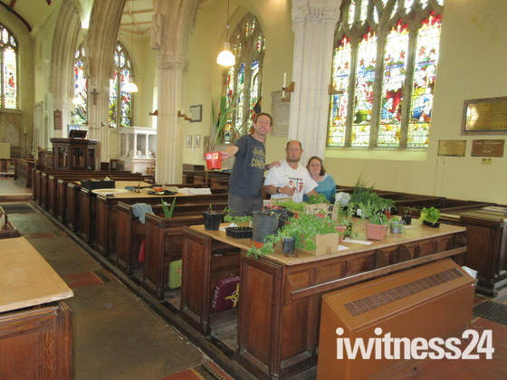 Broadclyst Church Plant Sale