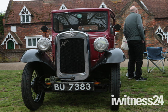 Baldock vintage car fair.