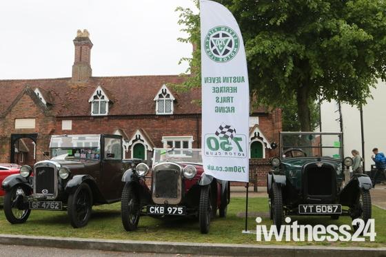 Baldock vintage car show.