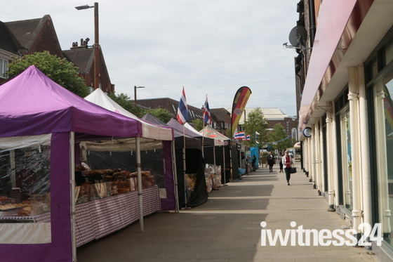 norton common & Letchworth town centre food fair.