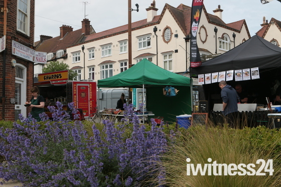 norton common & Letchworth town centre food fair.