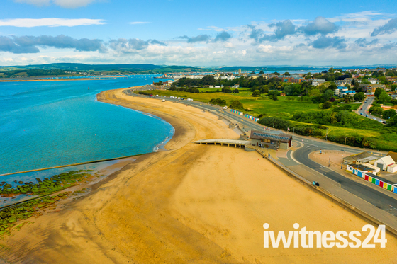 Another View from above of Exmouth Seafront
