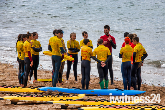 New Recruits for Exmouth Beach Rescue Club