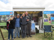 """Meeting at the stands at the """"Exmouth Festival"""" 2019"""
